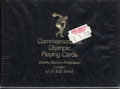 Olympic Playing Cards - Stanley Gibbons c 1976 sealed double pack