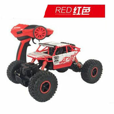 RED 2.4Ghz Remote control RC Rock Crawler 4WD Car Truck Off-Road Vehicle Toy