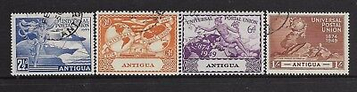 Antigua 1949 fine used stamps