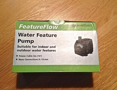 Pond Pump- PondExpert Feature Flow 450 Pump-NEW in BOX