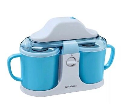 DUO ICE CREAM MAKER SilverCrest