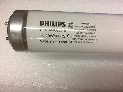 Philips 6ft TL01 narrowband uvb sunbed medical tubes psoriasis del £ most of uk