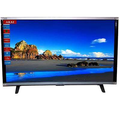 "TV LED 32 LCD HD Ready 32"" AKAI AKTV3214 Televisore - DVB-T2 Mpeg4 USB HDMI"