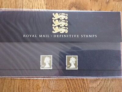 Great Britain 1997 Royal Mail Definitive Stamps Presentation Pack No 38 Mint