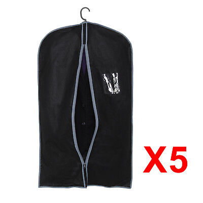 5X Suit Bag Dress Clothes Bags Travel Protector Carrier Garment Bags Storage