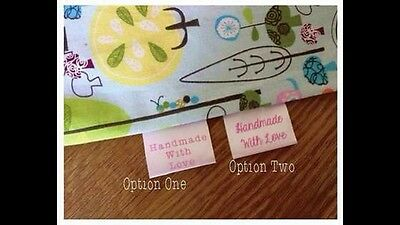 50 Handmade Labels To Advertise Your Business. Branding Tags Printed Ribbon