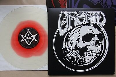 Orchid – Through The Devil's Doorway LP DOOM METAL 2013 CW020 CLEAR/RED SIGNED!