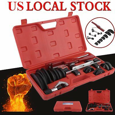 HVAC Refrigeration Ratchet Tube Bender cutter Copper Pipe Tool W/ Carry Box MX
