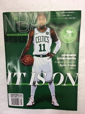 Sports Illustrated Magazine October 16Th 2017 Kyrie Irving Celtics Nba Preview
