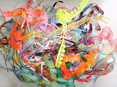Job Lot ~ 20 x 1m lengths of Mixed Ribbons ~ 3mm-40mm ~ Top Quality