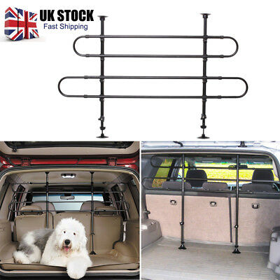 Car Pet Dog Doggy Barrier Wall Grill Safety Guards Fence Hatchback Suv Universal