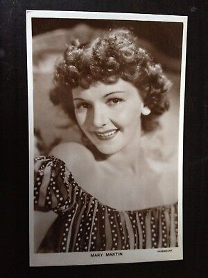 Mary Martin - 1329 - Picturegoer Vintage Postcard - Excellent Cond.