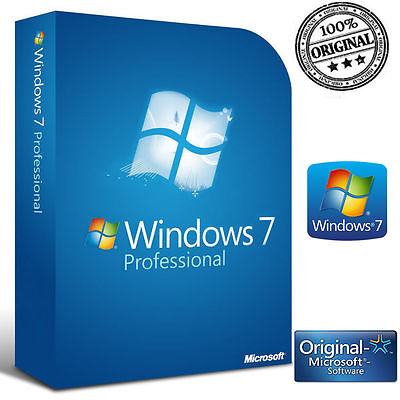 Licenza Windows 7 Pro Professional No Oem 32/64 Bit Codice Originale Esd