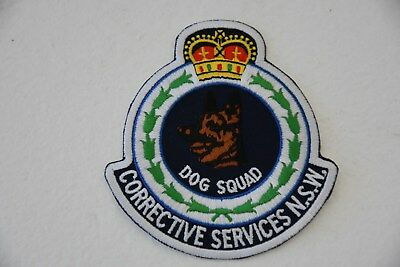 Corrective Services NSW Dog Squad Social Patch