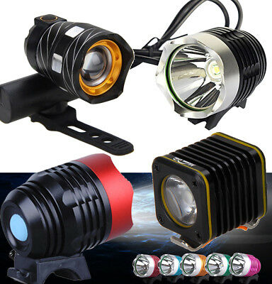 Portable USB Power LED Bicycle Bike Front Light Torch Cycling Headlamp Headlight