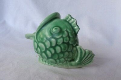 A. J. WILKINSON LTD. authentic Art Deco Fish scouring pad holder. c.1925 PERFECT