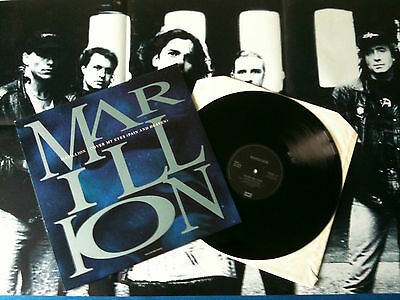"Marillion - Cover My Eyes 12""  UK 1991 EX/EX+ with poster    # Prog"