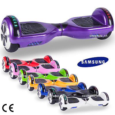Hoverboard Swegway Bluetooth Led Self Balancing Electric Scooter Funky 6.5 Inch