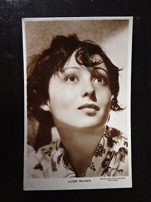 Luise Rainer - Film Actress - Vintage Milton Postcard - Very Good Condition