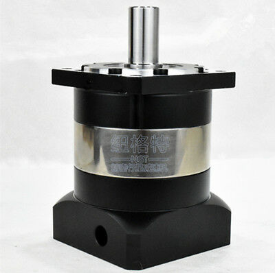 90mm planetary gear reducer Ratio 10:1 for NEMA34 stepper motor shaft 14mm