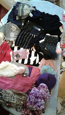 13 x Joblot wholesale market winter hats assorted Animal hats one size