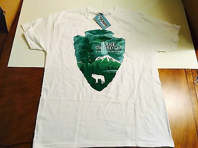 NEW (LARGE) X-Files T-Shirt Nerd Block Sci-Fi Exclusive Okobogee Want to Believe