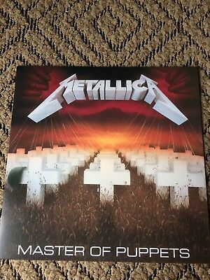 Metallica Master Of Puppets Vinyl Lp Album Heavy Metal Thrash Speed Megadeth