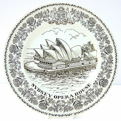 Vintage Collector Plate Wood & Sons Sydney Opera House