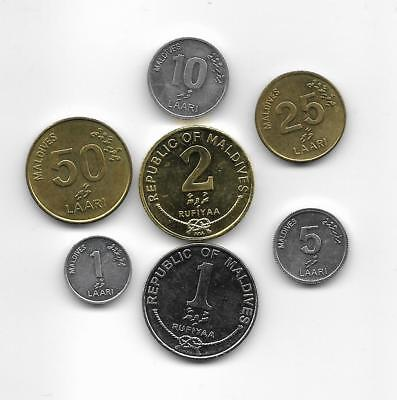 Lote monedas  MALDIVE ISLANDS  / Lot  coins