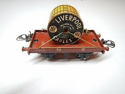 Hornby O Wagon N E Liverpool Cables Ref 35968 Tbe Id Jep Cr Lr