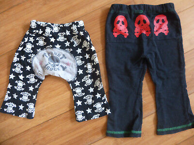 Girls Boys Clothes Bundle - Rock Punk Trousers, Size 90, Age 18-24M Halloween
