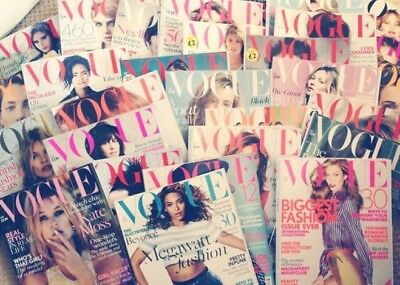 Vogue Magazine Collection July 2012 - April 2016 every issue