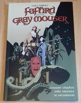 Fritz Lieber Fafhrd And The Gray Mouser Graphic Novel Dark Horse  Mike Mignola