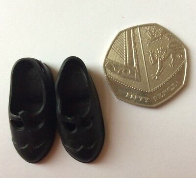 Sindy doll 1960s Mam'selle Black Shoes vintage dolls clothes mamselle