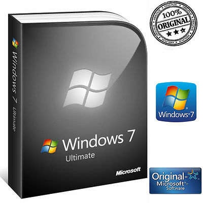 Licenza Windows 7 Ultimate No Oem 32/64 Bit Codice Originale Esd Microsoft