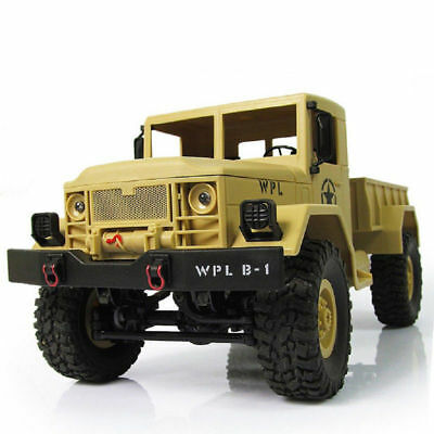 RC Car 1/16 Scale 4wd off Road Monster Truck Rock Crawler Electric RacingCar