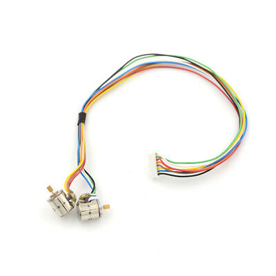 1set/2pcs 8mm 9 Teeth Micro 2-Phase 4-Wire Stepping Motor Stepper Motor YP