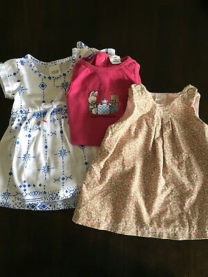 Baby Girl's 000 x 3 (H&M & Baby Berry)
