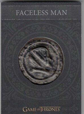 Game Of Thrones Valyrian Steel - H10 Faceless Man Coin Card