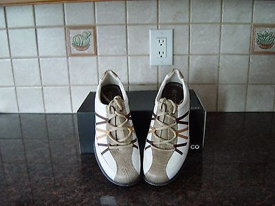 NEW Women's Ecco Golf Shoes Casual Pitch Ribbon size EU 38/US 7-7.5