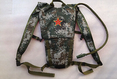 Chinese ARMY PLA Military Issue Camelbak 3L Water Bladder Bag Hydration Backpack