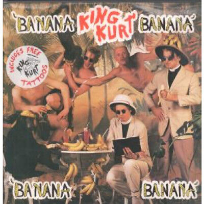 "KING KURT Banana Banana 12"" VINYL 3 Track With Tattoos B/w Instrumental And Bo"