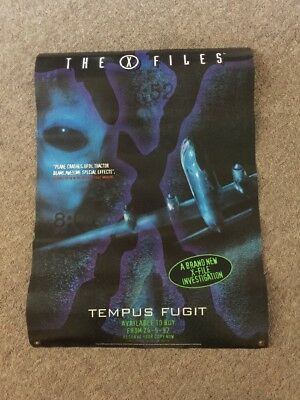 THE X FILES  Promotional Poster -  Tempus Fugit