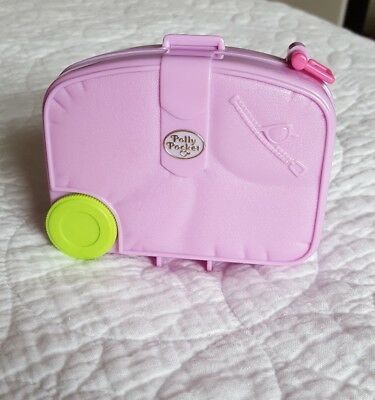 Vintage Polly Pocket holiday Fun Suitcase 1996 Excellent condition Compact Only