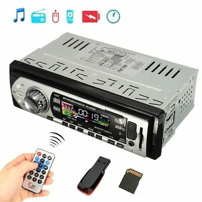 Car Auto Stereo Audio In Dash Aux Input Receiver SD USB MP3 FM Radio Player