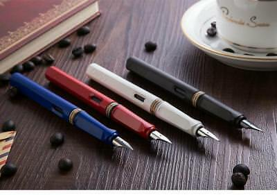 Safari Colorful Pens Business Office Financial Fountain Pen With Retail Box