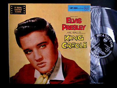 MINT Diff Label! ELVIS PRESLEY German LP STEREO RCA LSP-1884 King Creole