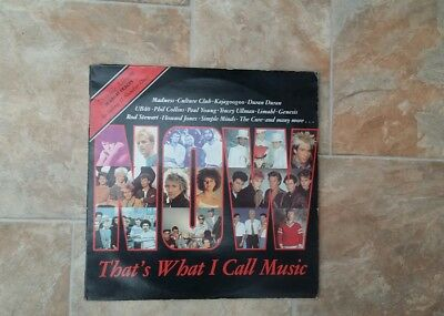 "Vinyl Record 12"" Now That's What I call music Vol 1 inc The Cure & Madness"
