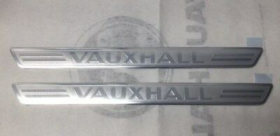 Vauxhall Astra K, Insignia B, Crossland X 2017- Front Sill Panel Plates 13466723