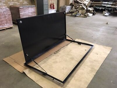 Catering Van Vehicle Body Side Serving Hatch, Frame and Flap